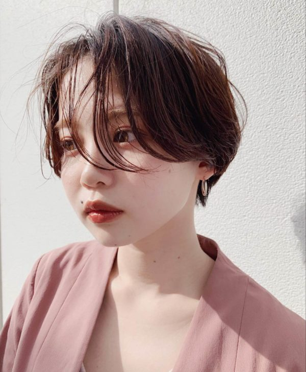 ニュアンス ハンサムショート|ガーデンハラジュク(GARDEN harajuku)スタイリストsenaのヘアスタイル画像