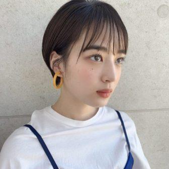シースルー前髪×丸みショート|【GARDEN Tokyo】 KOMAKI のヘアスタイル・髪型|ヘアカタログLALA [ララ]