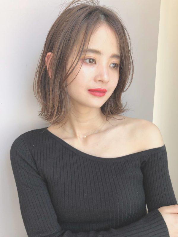 束感 軽い 外ハネボブ|【drive for garden】國武 さゆりのヘアスタイル・ヘアアレンジ・髪型|LALA[ララ]