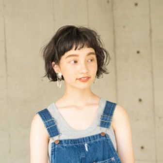 ショートバング/ボブ|【LOAVE AOYAMA】佐脇 正徳のヘアスタイル・ヘアアレンジ・髪型|ヘアカタログLALA[ララ]