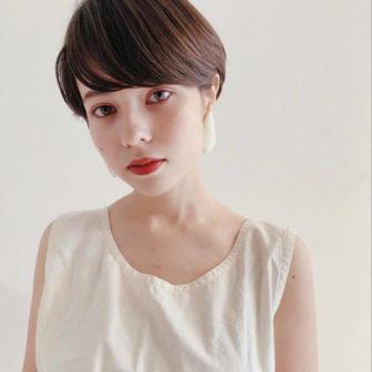 ストレート マッシュショート|【GARDEN harajuku】 senaのヘアスタイル・ヘアアレンジ・髪型|ヘアカタログLALA [ララ]