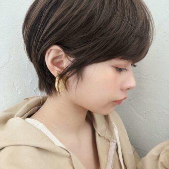 おしゃれマニッシュショート|【joemi by Un ami】 大久保 瞳のヘアスタイル・髪型|ヘアカタログLALA [ララ]