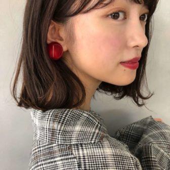 外ハネボブ|【Un ami kichijoji】 森 千里のヘアスタイル・髪型|ヘアカタログLALA [ララ]