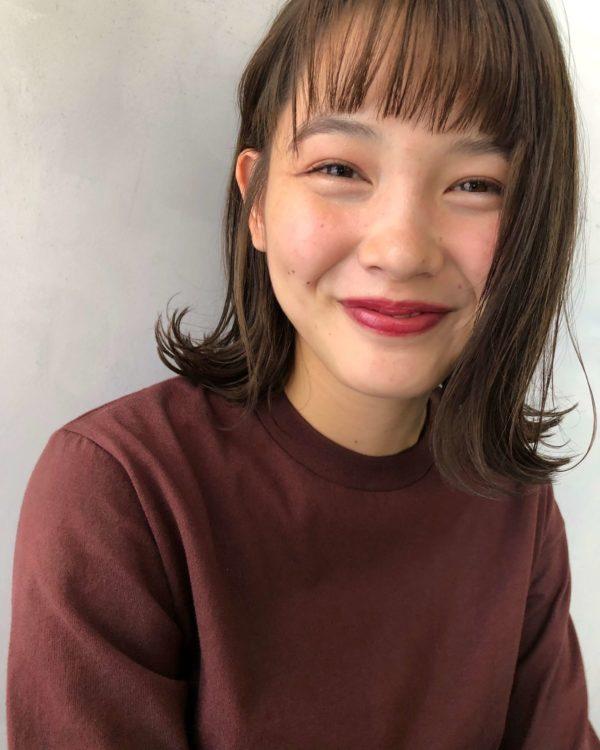 外ハネボブ|【Un ami kichijoji】 森 千里のヘアスタイル・髪型