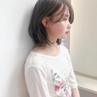 センターパート レイヤーボブ|【drive for garden】國武 さゆりのヘアスタイル・ヘアアレンジ・髪型|LALA[ララ]