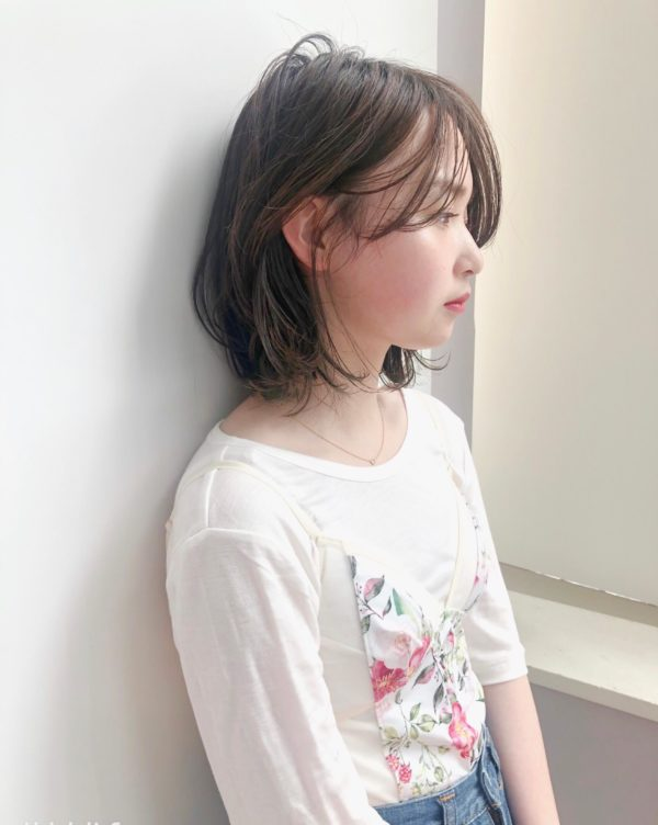 センターパート レイヤーボブ 【drive for garden】國武 さゆりのヘアスタイル・ヘアアレンジ・髪型 LALA[ララ]