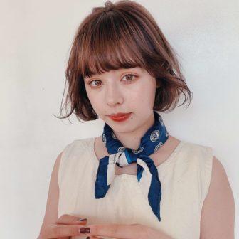 N.シアクリームでつくるゆるふわニュアンスボブ|【GARDEN harajuku】 senaのヘアスタイル・ヘアアレンジ・髪型|ヘアカタログLALA [ララ]