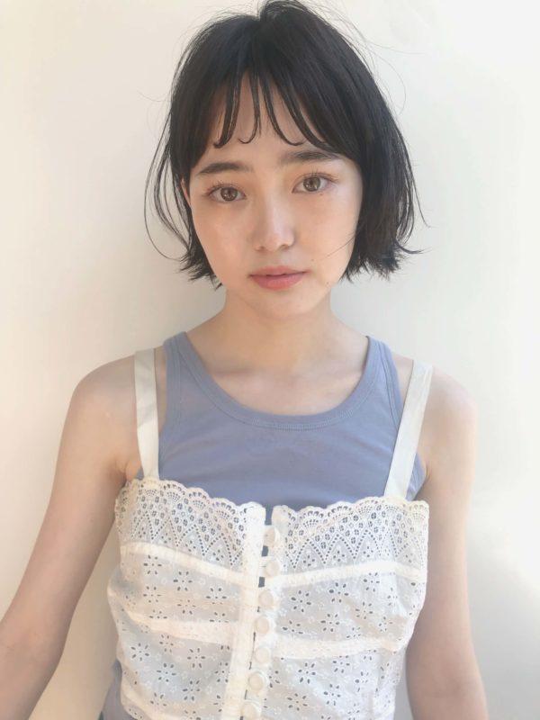 ショートボブ 外ハネ|【drive for garden】國武 さゆりのヘアスタイル・ヘアアレンジ・髪型|LALA[ララ]