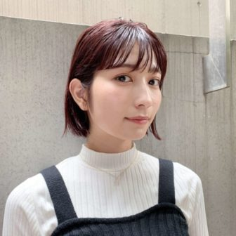 耳かけボブ|【JENO】堀江 昌樹のヘアスタイル・ヘアアレンジ・髪型|LALA[ララ]