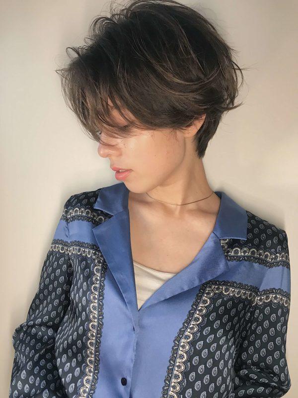 大人ショート|【dakota racy】石井 恭介のヘアスタイル・ヘアアレンジ・髪型|LALA[ララ]