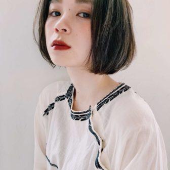 ナチュラルストレートボブ|【joemi by Un ami】 大久保 瞳のヘアスタイル・ヘアアレンジ・髪型|ヘアカタログLALA [ララ]