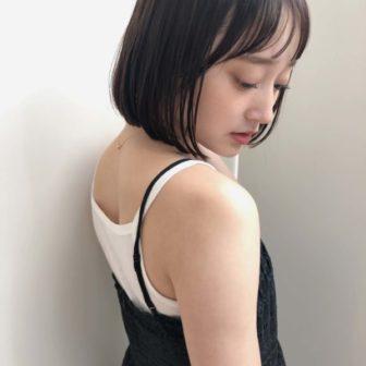 シンプル ミニボブ|【drive for garden】國武 さゆりのヘアスタイル・ヘアアレンジ・髪型|ヘアカタログLALA[ララ]
