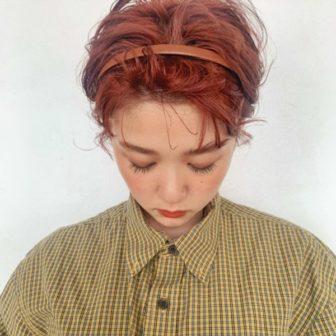 かきあげショートヘア|【GARDEN harajuku】 椛沢 柚希(カバサワ ユズキ)のヘアスタイル・ヘアアレンジ・髪型|ヘアカタログLALA [ララ]