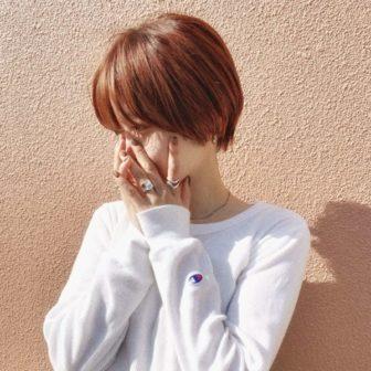 ショートボブ×オレンジカラー|【GARDEN harajuku】 椛沢 柚希(カバサワ ユズキ)のヘアスタイル・ヘアアレンジ・髪型|ヘアカタログLALA [ララ]