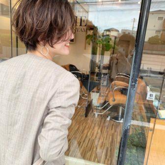 やわらかい質感×女性らしいハンサムショート|代官山の美容室 シー ダイカンヤマ(SHE DAIKANYAMA)スタイリスト丸岡 奈央のヘアスタイル