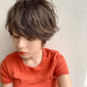 厚め前髪×品のあるショートヘア|【SHE DAIKANYAMA】 丸岡 奈央のヘアスタイル・ヘアアレンジ・髪型|ヘアカタログLALA [ララ]