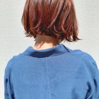暖色ボブ|【GARDEN harajuku】 椛沢 柚希(カバサワ ユズキ)のヘアスタイル・ヘアアレンジ・髪型|ヘアカタログLALA [ララ]