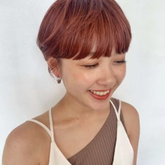 暖色ショート|【GARDEN harajuku】 椛沢 柚希(カバサワ ユズキ)のヘアスタイル・ヘアアレンジ・髪型|ヘアカタログLALA [ララ]