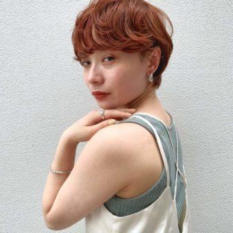 暖色パーマショート|【GARDEN harajuku】 椛沢 柚希(カバサワ ユズキ)のヘアスタイル・ヘアアレンジ・髪型|ヘアカタログLALA [ララ]