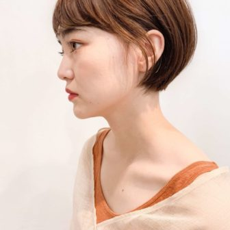 ショートとボブの間|【GARDEN harajuku】 高橋 苗のヘアスタイル・ヘアアレンジ・髪型|ヘアカタログLALA [ララ]