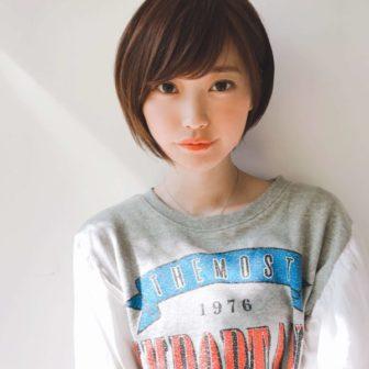 可愛さのある前下がりショートボブ|【GARDEN harajuku】 高橋 苗のヘアスタイル・髪型|ヘアカタログLALA [ララ]
