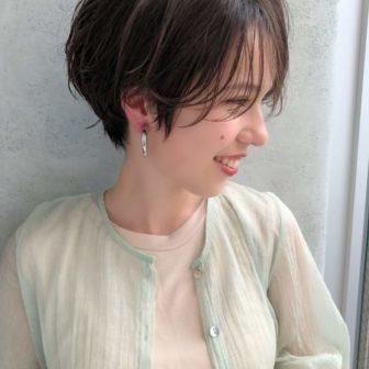 女性らしくて可愛いマッシュショート|【GARDEN Tokyo】今野 佑哉のヘアスタイル・ヘアアレンジ・髪型|ヘアカタログLALA[ララ]