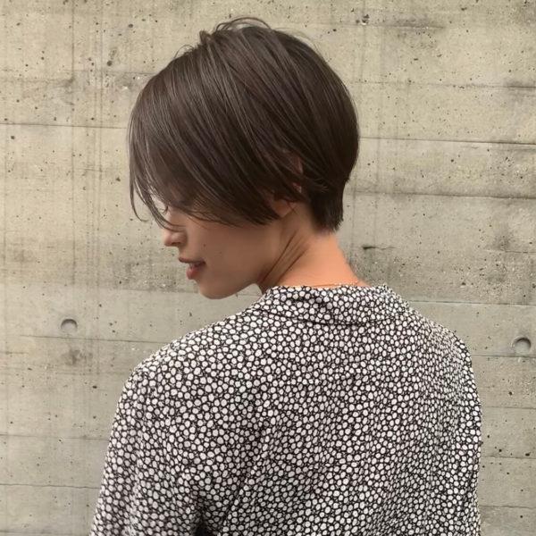 かきあげハンサムショート|【KATE】木下 公貴 (キノシタ キミタカ)のヘアスタイル・ヘアアレンジ・髪型