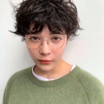ミニマムなカーリーマッシュ|【log】馬橋 達佳のヘアスタイル・ヘアアレンジ・髪型|LALA[ララ]