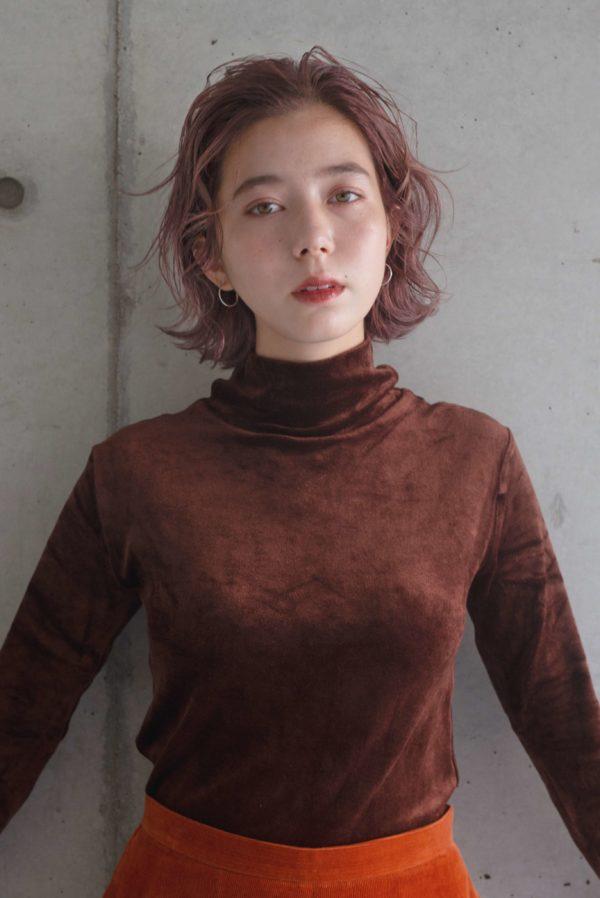 ピンクグレージュ / ボブ|【LOAVE AOYAMA】佐脇 正徳のヘアスタイル・ヘアアレンジ・髪型|LALA[ララ]