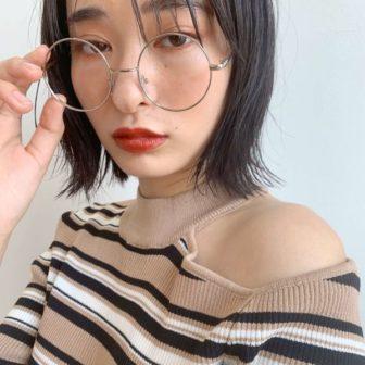 シースルーバング ボブ|【GIFT】chekeのヘアスタイル・ヘアアレンジ・髪型・ヘアカタログ|LALA[ララ]