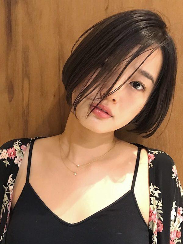 シンプルボブ|【KATE】金野 朋晃 (コンノ トモアキ)のヘアスタイル・ヘアアレンジ・髪型