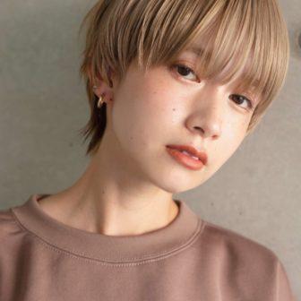 ハイトーン / マッシュウルフ|ローブ アオヤマ(LOAVE AOYAMA)スタイリスト佐脇 正徳のヘアスタイル