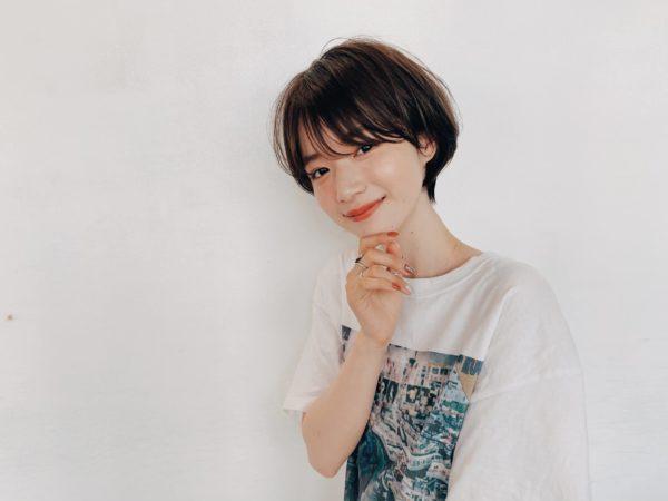 小顔コンパクトショート|ガーデンハラジュク(GARDEN harajuku)スタイリスト 高橋 苗(タカハシ ナエ)のヘアスタイル画像