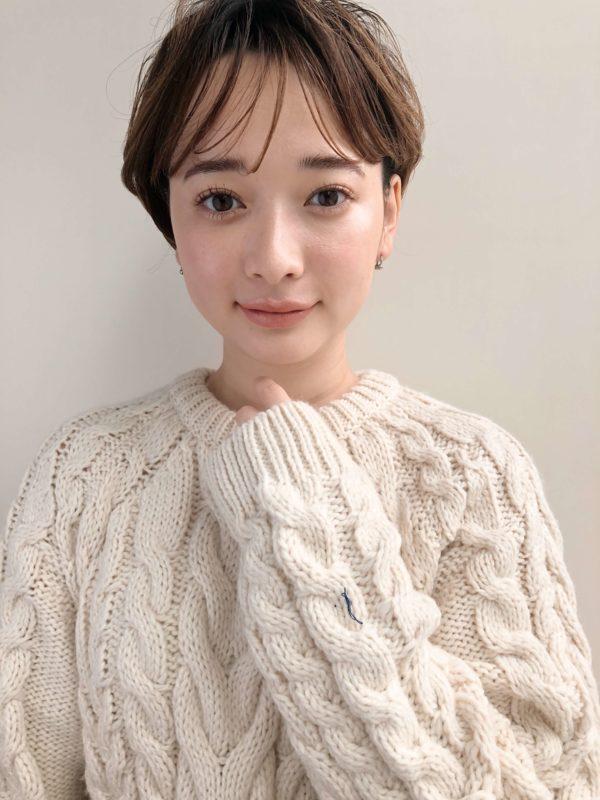 大人 シースルーバング ショート|【drive for garden】國武 さゆりのヘアスタイル・ヘアアレンジ・髪型|LALA[ララ]