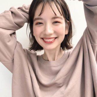 ボブ シースルーバング|【drive for garden】國武 さゆりのヘアスタイル・ヘアアレンジ・髪型|LALA[ララ]