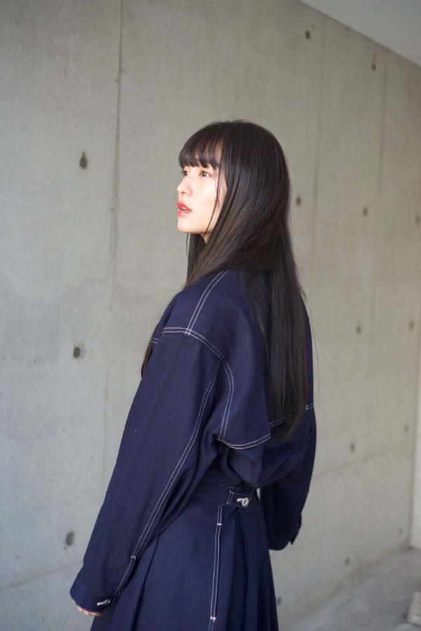 ダークブルージュ/ 艶ロング