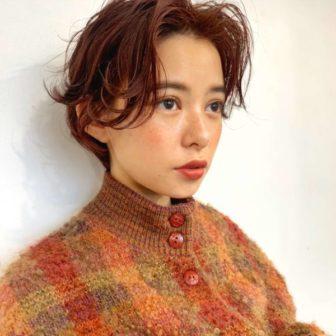ふわっとハンサムショート|【GARDEN harajuku】 椛沢 柚希(カバサワ ユズキ)のヘアスタイル・ヘアアレンジ・髪型|ヘアカタログLALA [ララ]