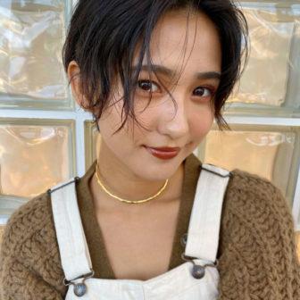 ハンサムショート|【GIFT】chekeのヘアスタイル・ヘアアレンジ・髪型|LALA[ララ]
