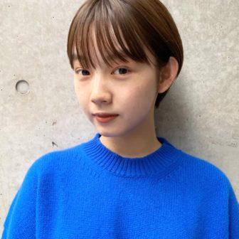 ナチュラルな耳かけショート|【JENO】堀江 昌樹のヘアスタイル・ヘアアレンジ・髪型|ヘアカタログLALA[ララ]