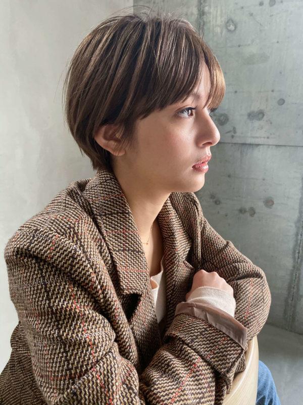 ナチュラルマッシュショートヘア 【SOIE】柳原 弘樹のヘアスタイル・ヘアアレンジ・髪型 