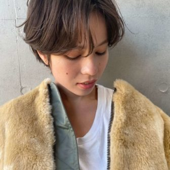 ニュアンスカールショート|【SOIE】柳原 弘樹のヘアスタイル・ヘアアレンジ・髪型・ヘアカタログ|LALA[ララ]