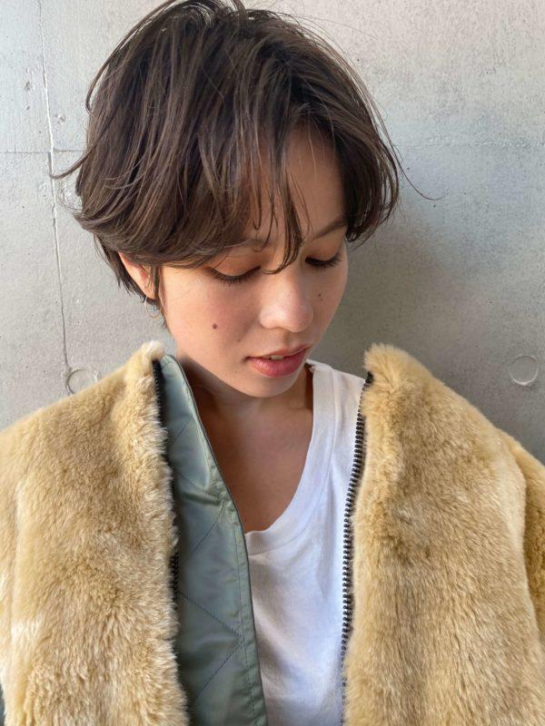 ニュアンスカールショート|【SOIE】柳原 弘樹のヘアスタイル・ヘアアレンジ・髪型|LALA[ララ]