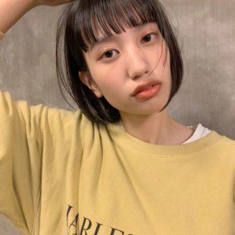 ワイドバングボブ|【KATE】金野 朋晃 (コンノ トモアキ)のヘアスタイル・ヘアアレンジ・髪型・ヘアカタログ|LALA[ララ]