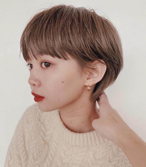 ハイトーンマッシュショート|ガーデンハラジュク(GARDEN harajuku)スタイリストsenaのヘアスタイルサイドの画像