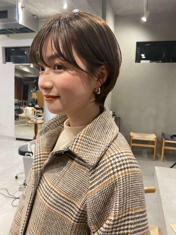 人気マッシュショート|SOIE (ソワ) スタイリスト柳原 弘樹のヘアスタイル画像