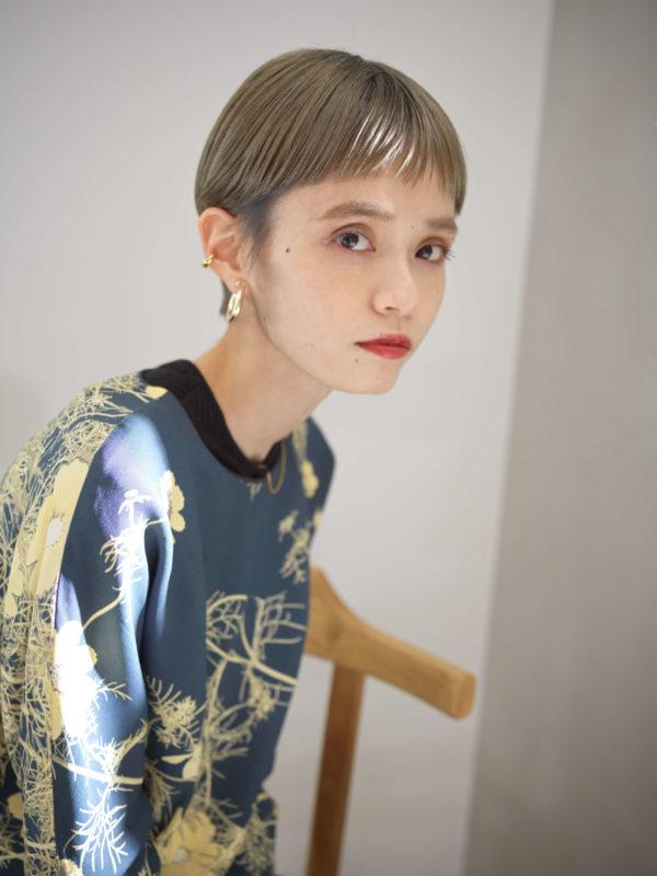 ベリーミニショート SOIE (ソワ) スタイリスト柳原 弘樹のヘアスタイル画像