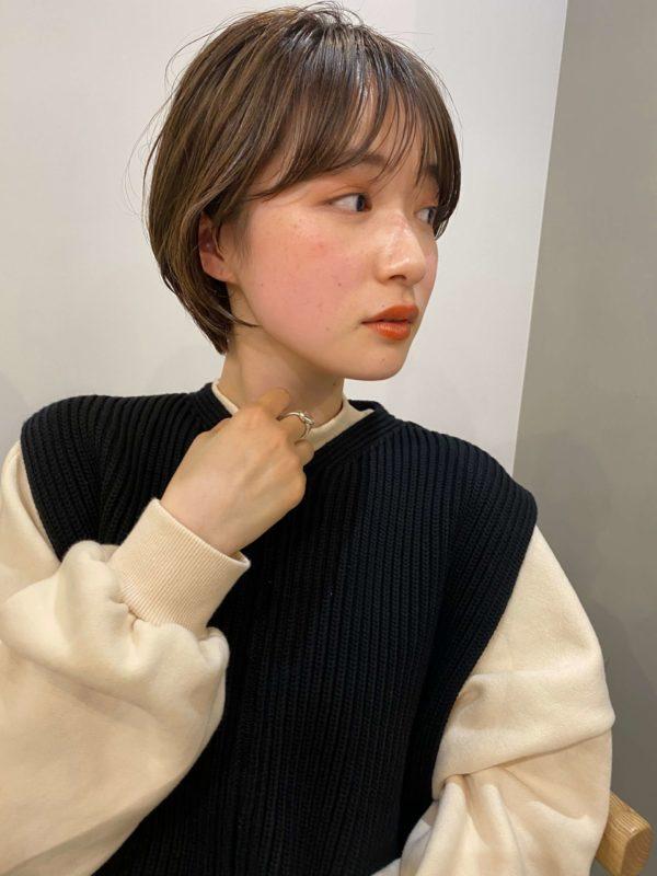 大人可愛いショートボブ|SOIE (ソワ) スタイリスト柳原 弘樹のヘアスタイル