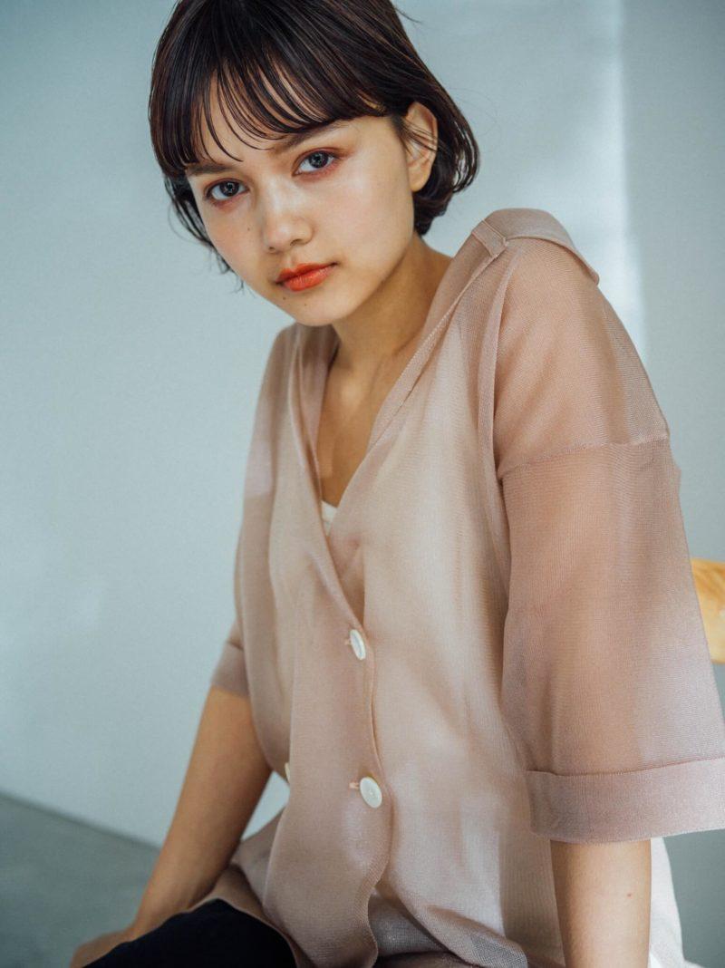 マッシュショートボブ|表参道の美容室SOIE (ソワ) スタイリスト柳原 弘樹のヘアスタイル