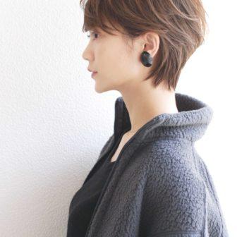 シルエットショート 代官山の美容室 シー ダイカンヤマ(SHE DAIKANYAMA)スタイリスト丸岡 奈央のヘアスタイル