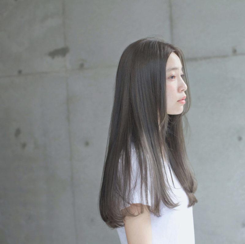 透明感オリーブベージュ|表参道の美容室 ローブ アオヤマ(LOAVE AOYAMA)佐脇 正徳のヘアスタイル